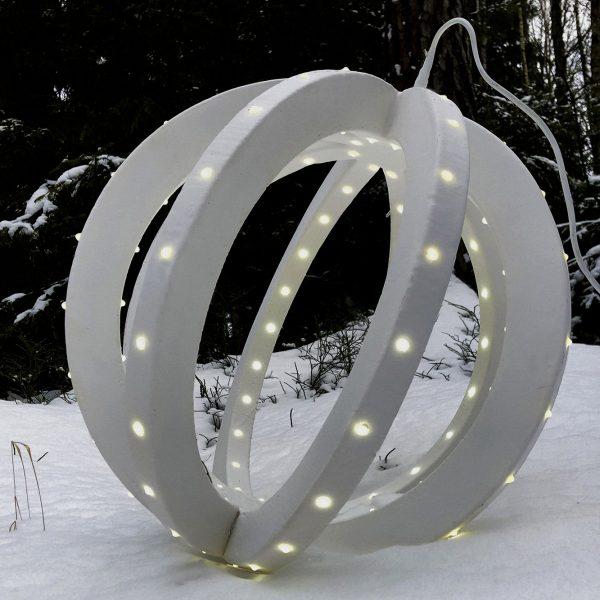 Световой шар новогодний